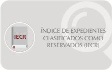 Índice de Expedientes Clasificados como Reservados